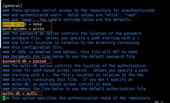 Linux上部署SVN